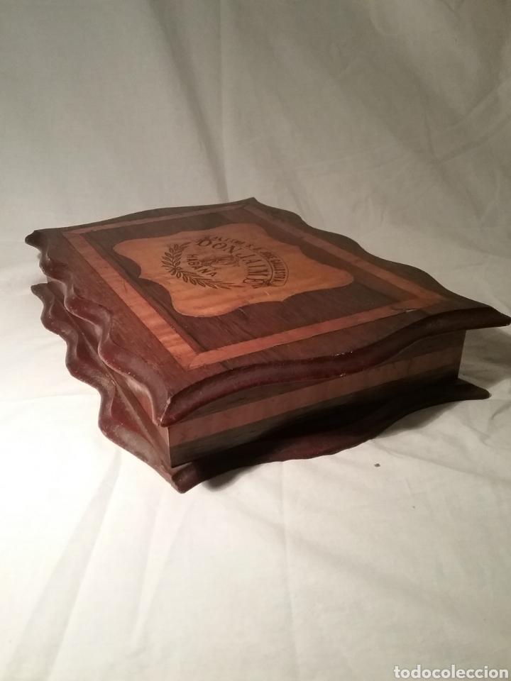 Cajas de Puros: Espectacular caja de puros de madera con marqueteria para don José Gallostra, ministro de Hacienda - Foto 5 - 194661305