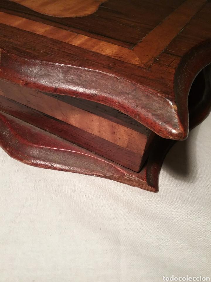 Cajas de Puros: Espectacular caja de puros de madera con marqueteria para don José Gallostra, ministro de Hacienda - Foto 8 - 194661305
