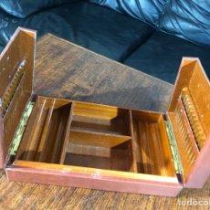 Cajas de Puros: ANTIGUA CAJA VINTAGE PARA TABACO PUROS PARA FUMADORES 28X17X6,5CM. Lote 194687776