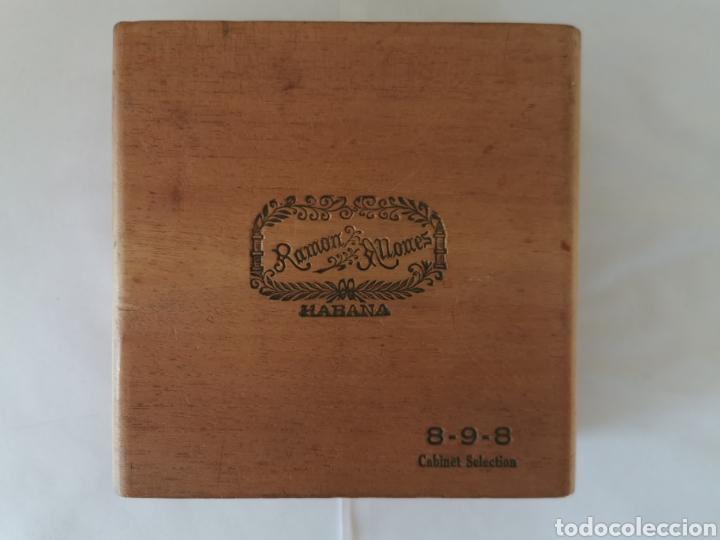CAJA DE PUROS VINTAGE CUBAN CIGAR BOX RAMON ALLONES CABINET SELECTION ENVIO INCLUIDO (Coleccionismo - Objetos para Fumar - Cajas de Puros)