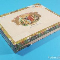 Cajas de Puros: CAJA DE MADERA DE PUROS ROMEO Y JULIETA HABANOS, 22 X 16,50 X 3 CM, LO QUE SE VE EN LAS FOTOS. Lote 194703020