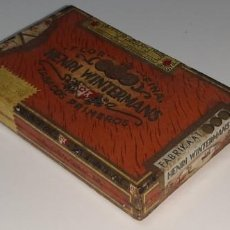 Cajas de Puros: ANTIGUA CAJITA DE PUROS TABACO CIGARRILLOS FLOR FINA - HENRY WINTERMANS - SENORITAS - HOLANDA. Lote 194749391