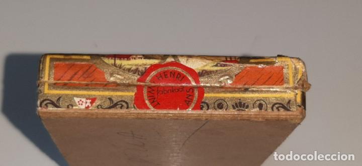 Cajas de Puros: ANTIGUA CAJITA DE PUROS TABACO CIGARRILLOS FLOR FINA - HENRY WINTERMANS - SENORITAS - HOLANDA - Foto 9 - 194749391
