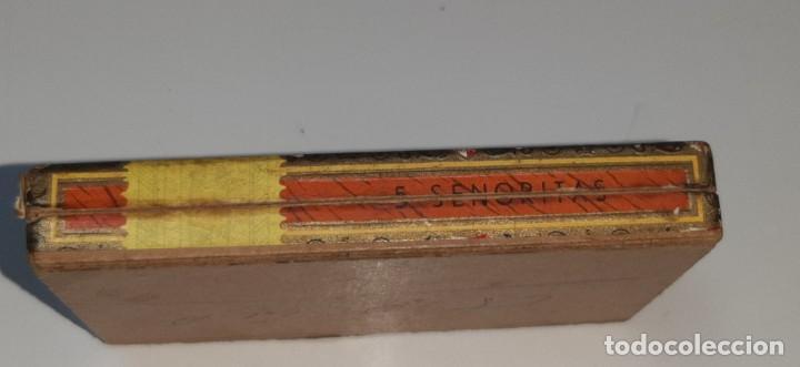 Cajas de Puros: ANTIGUA CAJITA DE PUROS TABACO CIGARRILLOS FLOR FINA - HENRY WINTERMANS - SENORITAS - HOLANDA - Foto 10 - 194749391