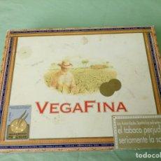 Cajas de Puros: VEGAFINA, CAJA DE PUROS VACIA.. Lote 194871232