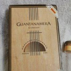 Cajas de Puros: CAJA PUROS GUANTANAMERA HABANOS CUBA. Lote 194912531