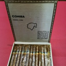 Cajas de Puros: ANTIGUA CAJA DE PUROS HABANOS COHIBA LANCEROS (24 UNIDADES.). Lote 194941645