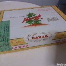 Cajas de Puros: ANTIGUA CAJA CERRADA HABANOS BAUZÁ 25 N°1 COMPLETA PERFECTO ESTADO SELLADA. Lote 194968246