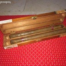 Cajas de Puros: MONTE PALMA - MILLENNIUM - ESTUCHE CON 2 PUROS DE 22 CMS.. Lote 195010655