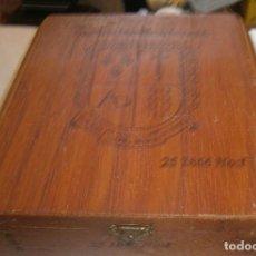 Cajas de Puros: CAJA DE PUROS COMPAÑIA DE TABACOS DE LAS ANTILLAS S.A. Lote 195033690