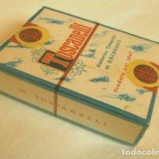 Cajas de Puros: TOSCANELLI - ANTIGUA CAJA DE PUROS SUIZA, FABBRICA TABACCHI IN BRISSAGO FONDATA NEL 1847 SWITZERLAND. Lote 195102951