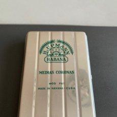Cajas de Puros: CAJA METAL. PUROS. H.UPMANN. HABANA. Lote 195106055