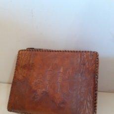 Cajas de Puros: CAJA DE PUROS. FORRADA CON PIEL.. Lote 195108930