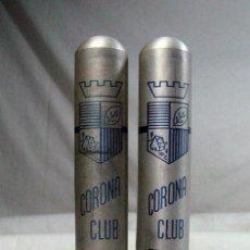Cajas de Puros: DOSPUROS CORONA CLUB TROYA. HABANA. CUBA. Lote 195163373