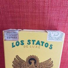 Cajas de Puros: CAJA DE PUROS PACK LOS STATOS DE LUXE 10 DELIRIOS FULL. Lote 195180045