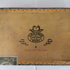 Cajas de Puros: CAJA DE PUROS VINTAGE CUBAN CIGAR BOX PARTAGAS SELECCION PRIVADA ENVIO INCLUIDO. Lote 195181430