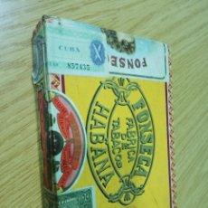 Cajas de Puros: CAJA VACIA HABANOS FONSECA CADETES. Lote 195229565