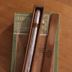 Cajas de Puros: LA ESCEPCION GRAN GENER 1960'S, CAJA PUROS, CIGARS BOX, HABANOS. Lote 195241246