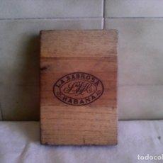 Cajas de Puros: CAJA DE PUROS LA SABROSA. Lote 195283746