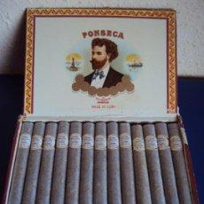 Cajas de Puros: (TA-200213)CAJA FINSECA - 25 COSACOS - PERSONALIZADOS - HABANA - CUBA. Lote 195308988