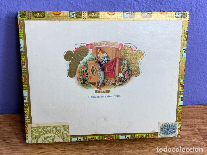 NUEVA A ESTRENAR - CAJA DE PUROS ROMEO Y JULIETA 10 TUBOS DE ALUMINIO CHURCHILLS (Coleccionismo - Objetos para Fumar - Cajas de Puros)