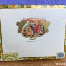 Cajas de Puros: NUEVA A ESTRENAR - CAJA DE PUROS ROMEO Y JULIETA 10 TUBOS DE ALUMINIO CHURCHILLS. Lote 195341183