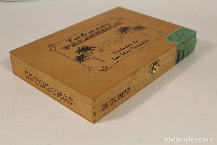 Cajas de Puros: caja de puros palmeros - Foto 2 - 195355752