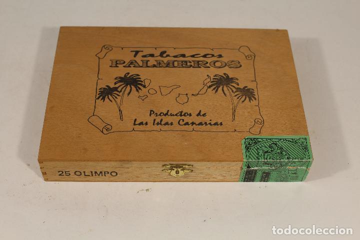 CAJA DE PUROS PALMEROS (Coleccionismo - Objetos para Fumar - Cajas de Puros)