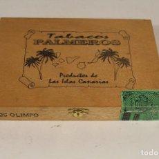 Cajas de Puros: CAJA DE PUROS PALMEROS. Lote 195355752