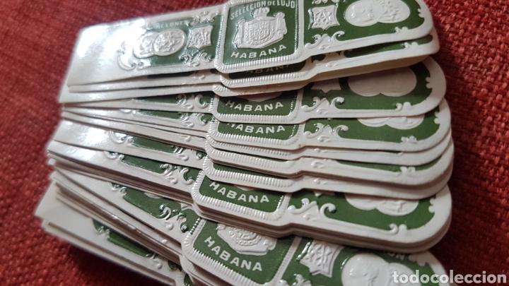 Cajas de Puros: 50 anillas vitolas de puros Ramon allones seleccion de lujo habana pre embargo - Foto 4 - 195367665