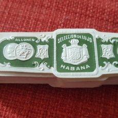 Cajas de Puros: 50 ANILLAS VITOLAS DE PUROS RAMON ALLONES SELECCION DE LUJO HABANA PRE EMBARGO. Lote 195367665