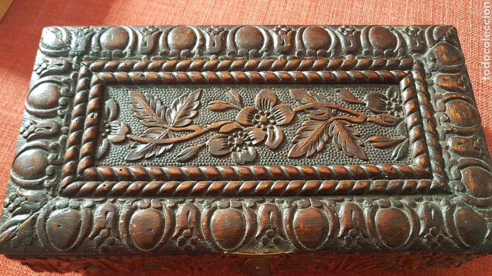 ANTIGUO COFRE CAJA DE PUROS HABANA CUBA (Coleccionismo - Objetos para Fumar - Cajas de Puros)
