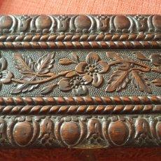 Cajas de Puros: ANTIGUO COFRE CAJA DE PUROS HABANA CUBA. Lote 195368057