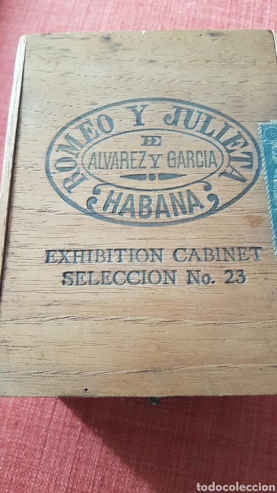 ANTIGUA CAJA DE PUROS ROMEO Y JULIETA EXHIBITION CABINET SELECCION NO 23 PRE EMBARGO CUBA (Coleccionismo - Objetos para Fumar - Cajas de Puros)