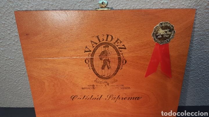 Cajas de Puros: LOTE DE COLECCIÓN PUROS VALDEZ CALIDAD SUPREMA. MEDALLA DE ORO. MEXICO - Foto 2 - 195435493