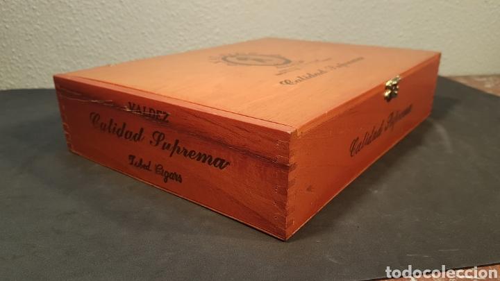 Cajas de Puros: LOTE DE COLECCIÓN PUROS VALDEZ CALIDAD SUPREMA. MEDALLA DE ORO. MEXICO - Foto 5 - 195435493