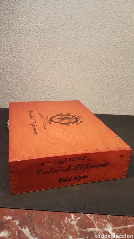 Cajas de Puros: LOTE DE COLECCIÓN PUROS VALDEZ CALIDAD SUPREMA. MEDALLA DE ORO. MEXICO - Foto 6 - 195435493