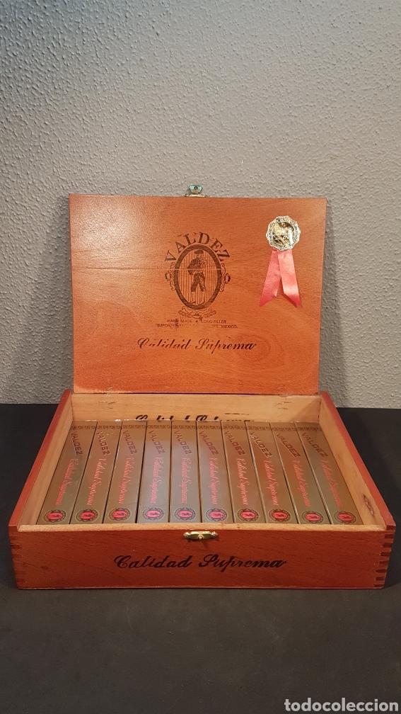 LOTE DE COLECCIÓN PUROS VALDEZ CALIDAD SUPREMA. MEDALLA DE ORO. MEXICO (Coleccionismo - Objetos para Fumar - Cajas de Puros)