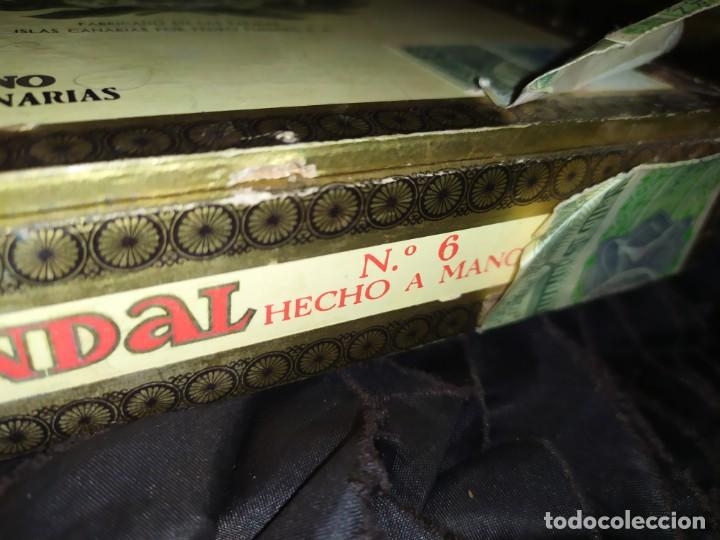 Cajas de Puros: ANTIGUA CAJA DE PUROS CONDAL HECHOS A MANO EN ISLAS CANARIAS PEDRO FUENTES VACIA ÚNICA? - Foto 3 - 195440978