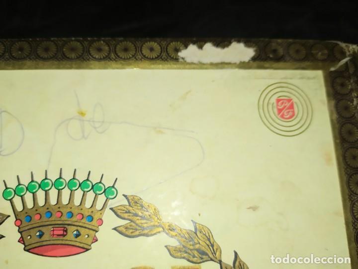 Cajas de Puros: ANTIGUA CAJA DE PUROS CONDAL HECHOS A MANO EN ISLAS CANARIAS PEDRO FUENTES VACIA ÚNICA? - Foto 6 - 195440978