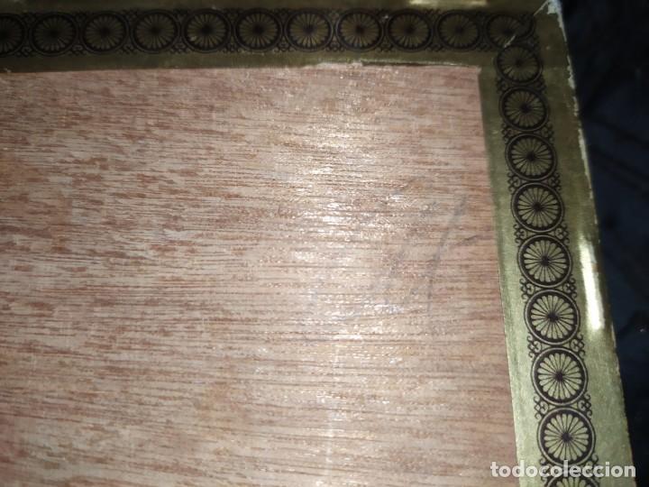 Cajas de Puros: ANTIGUA CAJA DE PUROS CONDAL HECHOS A MANO EN ISLAS CANARIAS PEDRO FUENTES VACIA ÚNICA? - Foto 11 - 195440978