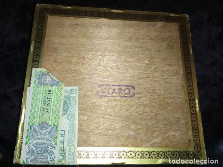 Cajas de Puros: ANTIGUA CAJA DE PUROS CONDAL HECHOS A MANO EN ISLAS CANARIAS PEDRO FUENTES VACIA ÚNICA? - Foto 12 - 195440978
