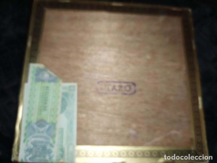 Cajas de Puros: ANTIGUA CAJA DE PUROS CONDAL HECHOS A MANO EN ISLAS CANARIAS PEDRO FUENTES VACIA ÚNICA? - Foto 13 - 195440978