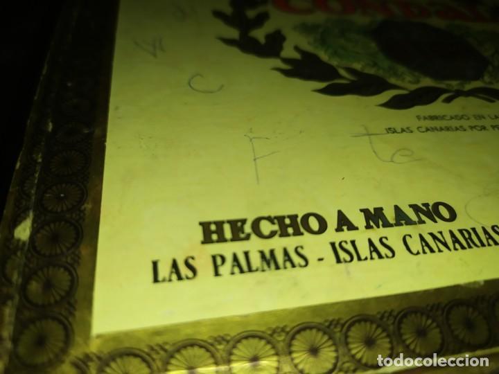 Cajas de Puros: ANTIGUA CAJA DE PUROS CONDAL HECHOS A MANO EN ISLAS CANARIAS PEDRO FUENTES VACIA ÚNICA? - Foto 14 - 195440978