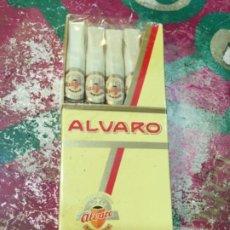 Cajas de Puros: CAJA DE PUROS ALVARO. 5 MONIC. Lote 195471030