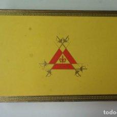 Cajas de Puros: CAJA DE PUROS MONTECRISTO 25 Nº 2 , LA CAJA ESTÁ ABIERTA PERO COMPLETA . (LEER CONDICIONES DE PAGO). Lote 195504351