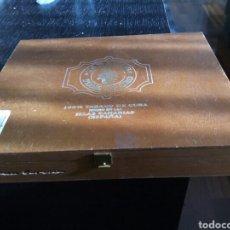 Cajas de Puros: ESTUPENDA CAJA VACÍA DE PUROS. Lote 195609762