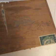 Cajas de Puros: ANTIGUA CAJA DE PUROS VACÍA LA DIRECTA HABANA. Lote 195637068