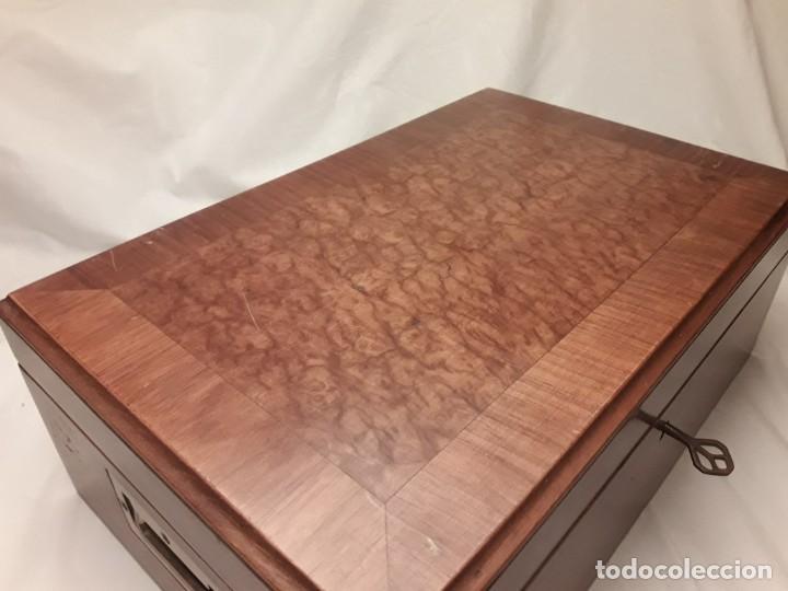 Cajas de Puros: Elegante caja de puros Humidificador madera de gran calidad de Olivo o Nogal - Foto 5 - 195974308