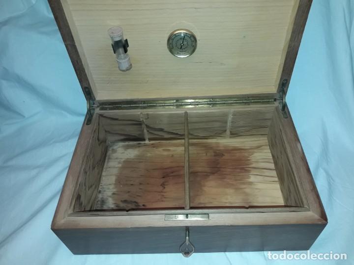 Cajas de Puros: Elegante caja de puros Humidificador madera de gran calidad de Olivo o Nogal - Foto 7 - 195974308